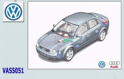 Volkswagen VW VAS5051B / 52 / 52А / 6150 v.17 Программное обеспечения для диагностических приборов VW