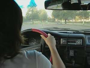 Практические занятия по вождению автомобиля: обучающее видео