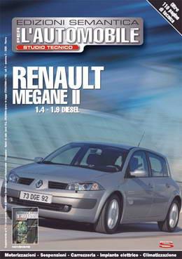 Renault Megane 2 с двигателями 1.4 - 1.9 дизель. Руководство по ремонту.