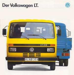 Volkswagen VW LT / LT 4x4 (1975 - 1995 год выпуска). Техническая документация и руководство по ремонту.