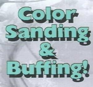 Полировка кузова автомобиля: Color Sanding & Buffing! Обучающее видео.
