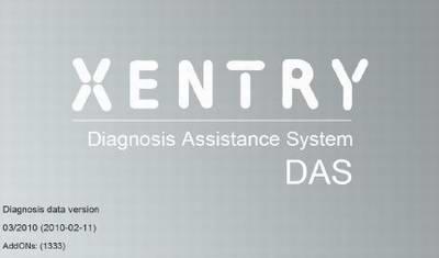 Mercedes DAS 03.2010. Программа для дилерской диагностики автомобилей Mercedes.