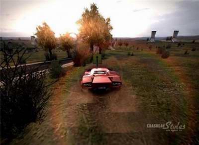 Игру CrashDay Night Damage (2009). Авто аркада, симулятор.