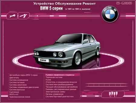 BMW 5 серии (1981 -1993)