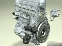 Работающий двигатель