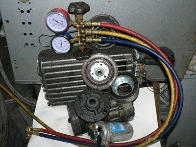 Заправка автомобильных кондиционеров - порядок выполнения работ