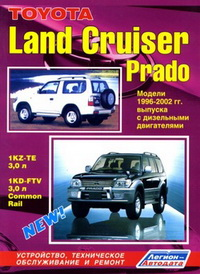 ����������� �� ������� � ������������ ���������� Toyota Land Cruiser Prado 1996-2002 / ������ ���� ������ �����
