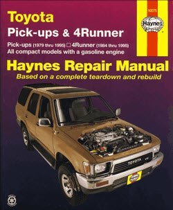 Toyota Pick-ups & 4Runner Haynes Manual