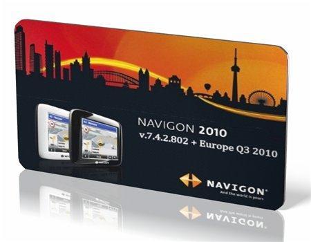 NAVIGON 7.4.2.802 [PDA/PNA] + Europe Q3 2010 (2010/ENG+RUS)