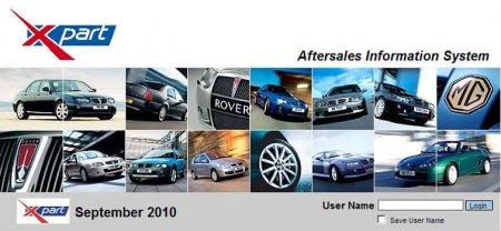 MG Rover EPC 09.2010