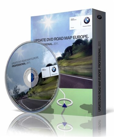 BMW Navigation DVD [Road map All Europe] Professional 2011 (2010/Multi) � 3xDVD