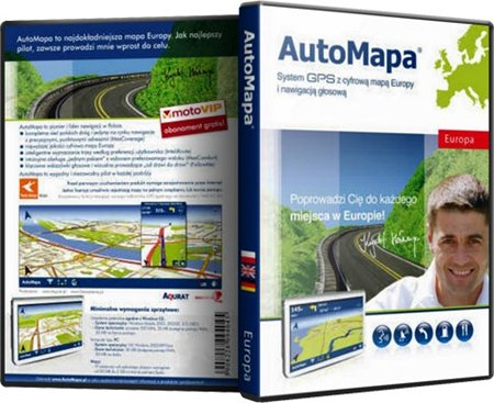 AutoMapa EUROPE - v. 6.6.1 (1220) Final (2010/Multi)