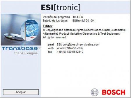 Bosch ESI[tronic] 2010/4