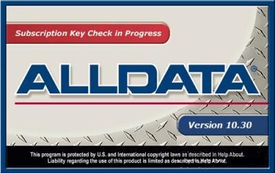 Alldata 10.30 август 2010 (Portable)