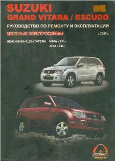 Suzuki Grand Vitara/Escudo. Руководство по ремонту и эксплуатации