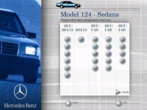 Mercedes - Benz (модель W124). Сервисное руководство по ремонту и обслуживанию автомобиля.