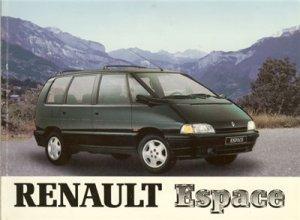 Renault Espace 1984-1996.Руководство по ремонту и эксплуатации