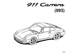 Porsche  911(993) carrera-1994 .Инструкция по ремонту.