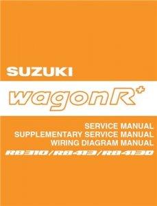 Suzuki Wagon R+ 1999-2002.