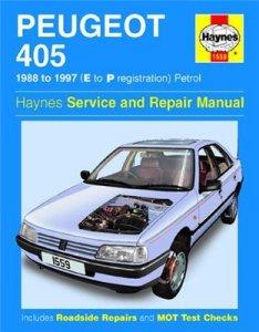 Peugeot 405 1988-97. Service Manual.
