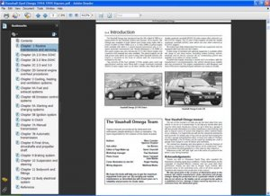 Opel Omega 1994-1999. Руководство по ремонту-Haynes.
