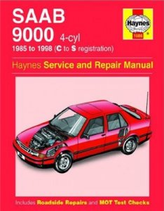 SAAB 9000. 1985-98 Repair Manual.