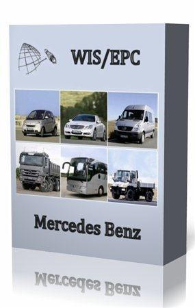 Mercedes EPC + WIS версия 01.2011 Multi, Rus. Электронный каталог запчастей Mercedes.