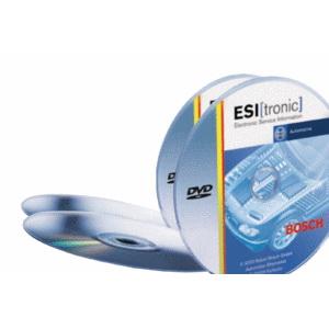 Bosch ESI (tronic) 1.2011 (диск DVD3). Каталог продукции и программа для работы с блоками диагностики BOSCH.