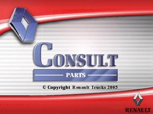 Renault Trucks Consult (версия 01.2011). Электронный каталог запасных частей Renault и Avia.