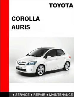 Toyota Auris. Мультимедийное руководство по ремонту автомобиля.