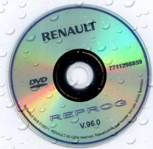 Renault Reprog (версия 96.0, 2011 год). Дилерская база прошивок.