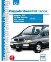 Citroen Jumpy / Evasion, Peugeot Expert / 806, Fiat Ulysse / Scudo, Lancia Z (1994 - 2001 год выпуска, дизель). Руководство по ремонту автомобилей.