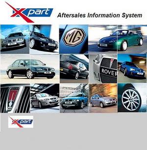MG Rover EPC (версия 01.2011). Электронный каталог запасных частей Rover и MG.