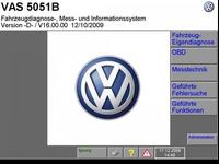 Volkswagen Flash DVD (версия 057, 2011 год). Прошивки и программа для работы с блоками управления.