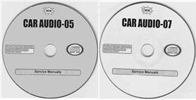 Принципиальные схемы и сервисные руководства для автомагнитол. Диски 5 и 7 Car Audio.