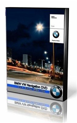 BMW VW Navigation DVD V.6.1 - Europe [RNS 510] (2010/ENG) + POI