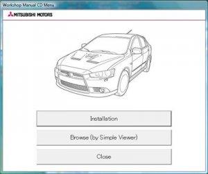 Mitsubishi Lancer X Sportback. Мультимедийная инструкция по ремонту