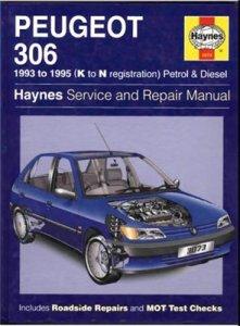 PEUGEOT 306 1993-95 гг. Ремонт, обслуживание.