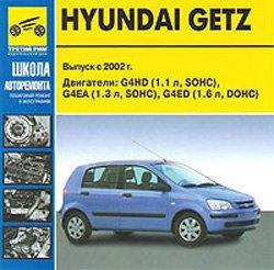 Hyundai Getz с 2002г. Мультимедийное руководство по ремонту.