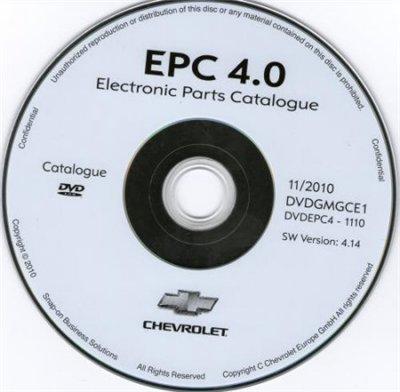CHEVROLET EUROPE EPC 11/2010