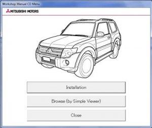 Mitsubishi Pajero IV (MUT III). Техническая информация