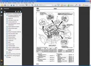 Mazda MX-3 v6. Официальное руководство по ремонту