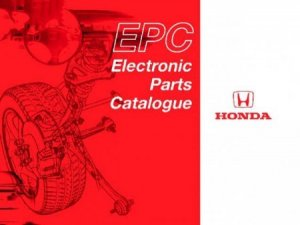 Honda Europe (1982-2010) Электронный каталог Honda Europe v17.00