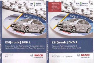 Bosch ESI[tronic] 2011/1 (1-2) (2011/1) продукция фирмы Robert Bosch GmbH
