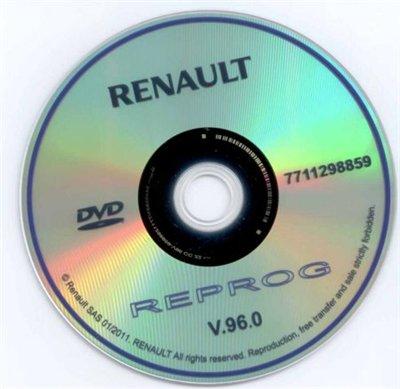 Renault REPROG v.96.0