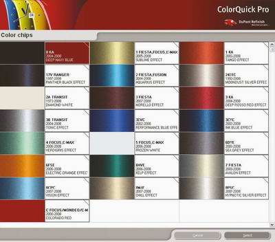 Система цветоподбора DuPont ColorQuick Pro 2008 - 4 версия 3.0