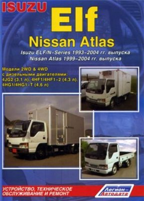 NISSAN ATLAS 1999-2004, ISUZU ELF / N-series 1993-2004 дизел