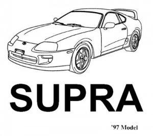 Toyota Supra 1997. Руководство по ремонту.