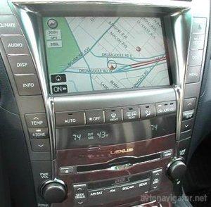 Lexus Navigation/Лексус Навигация - Карта России (2011)