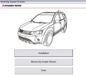 Mitsubishi OUTLANDER 2008(CW#). Дилерское руководство по ремонту.